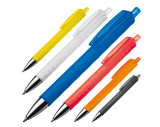 Plastic ball pen with patterns