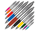 Ball pen with satin finish