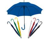 Automatic umbrella, plastic handle