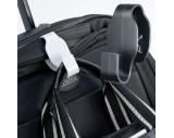 Bag holder for trolleys
