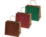 Small recycled paperbag with 2 handles