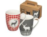 Set of 2 Christmas mugs
