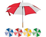 Parapluie automatique bicolore