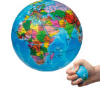 Balle anti-stress globe terrestre