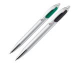 Kunststof pen met 2 vullingen